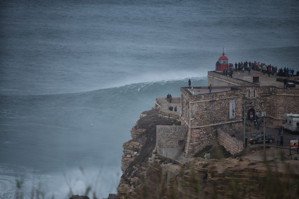 nazare big wave